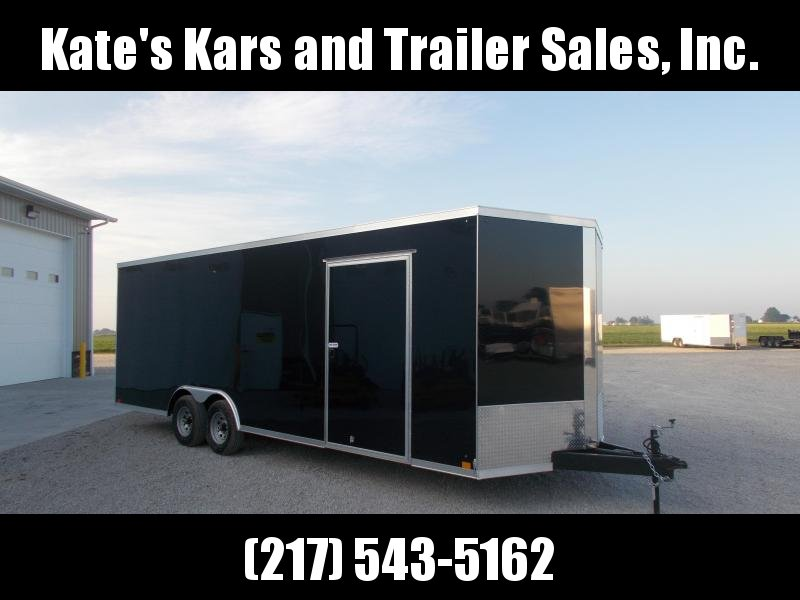 2020 Cross Trailers 8.5X24 Screwless Sides Torsion Axles Enclosed Cargo Trailer