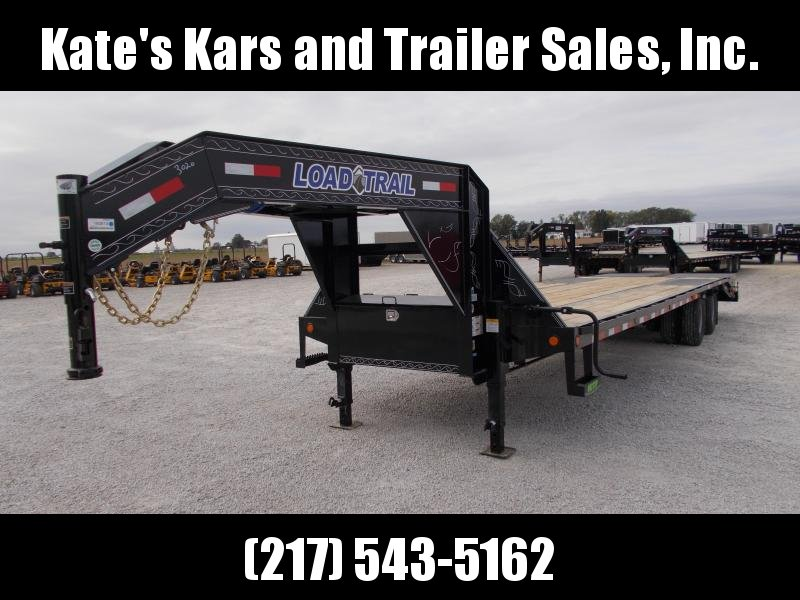 2020 Load Trail 102X32 Max Ramps 14PLY Tires 12K Axles Flatbed Trailer