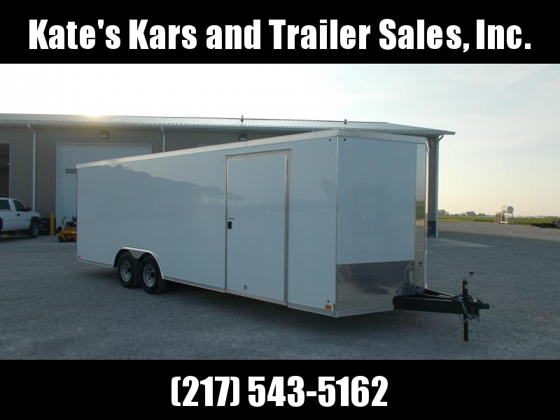 2020 Cross Trailers 8.5X24 Screwless Sides Enclosed Cargo Trailer