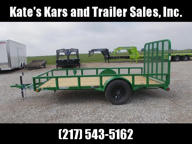 2019 Load Trail Single Axle Green 77X12 Utility Trailer