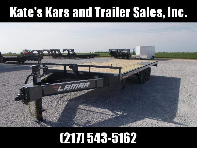 *NEW* Lamar Trailers 102X22' Straight Deckover 14K Equipment Trailer