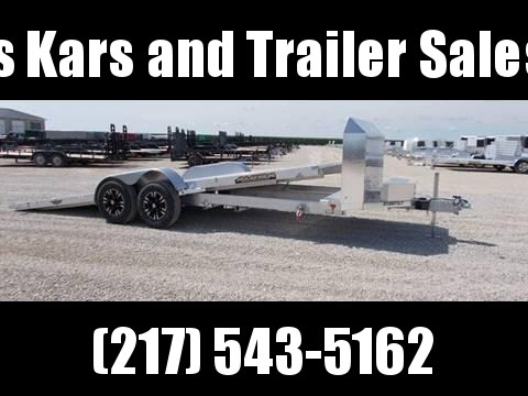 L@@K At This Aluminum 20' Aluma 8220HTilt Anniversary Edition Car Hauler Trailer