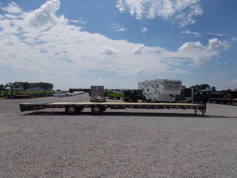 Hotshot Gooseneck Load Trail 102X44' Air Ride 25900 GVWR Flatbed Trailer