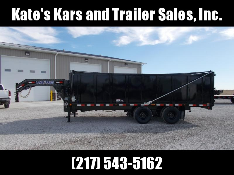 2020 Load Trail 102X20 Deck Over Gooseneck HD 48 Sides Dump Trailer