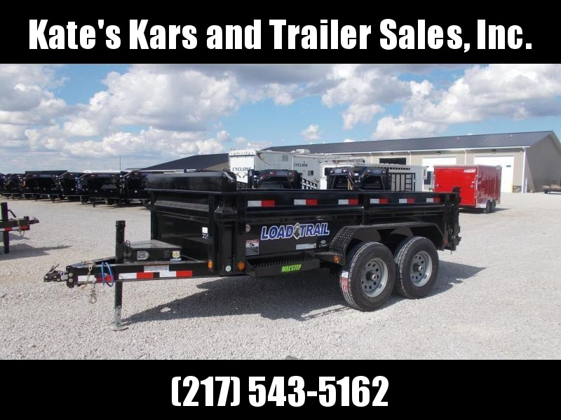 "*NEW** Load Trail 72""X12' Dump trailer 9990 LB GVWR DT7212052"