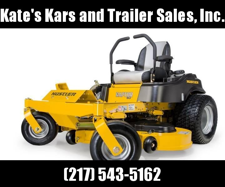 "2019 Hustler Raptor SD 60"" zero turn mower Lawn mower for sale in central Illinois"