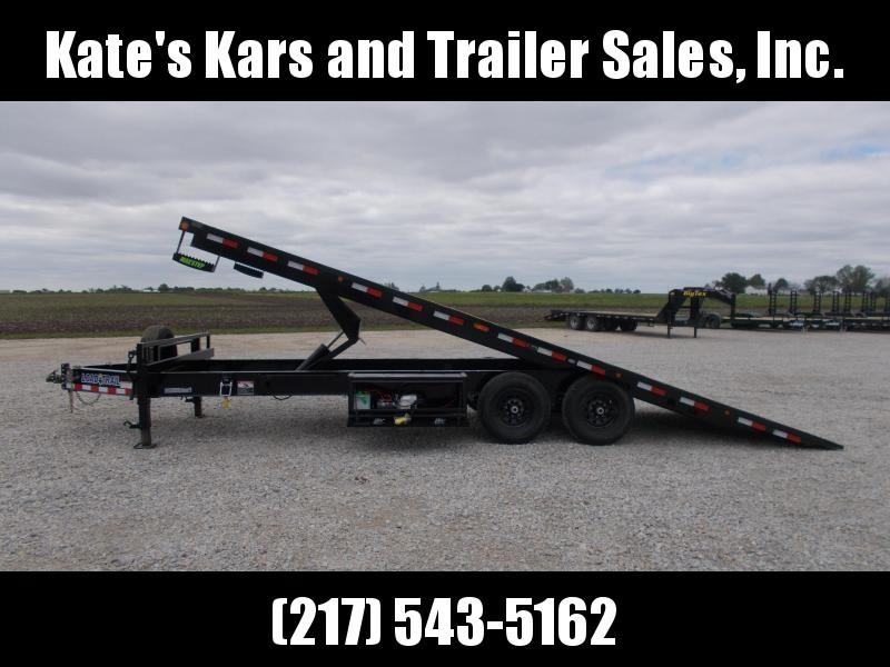 *NEW* Load Trail 102X24' Deckover Power Tilt Equipment Trailer 14K LB