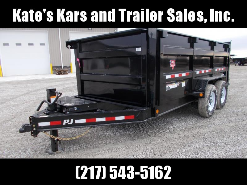 DISCOUNTED PJ Trailers 83X14' Low Pro DUMP Trailer