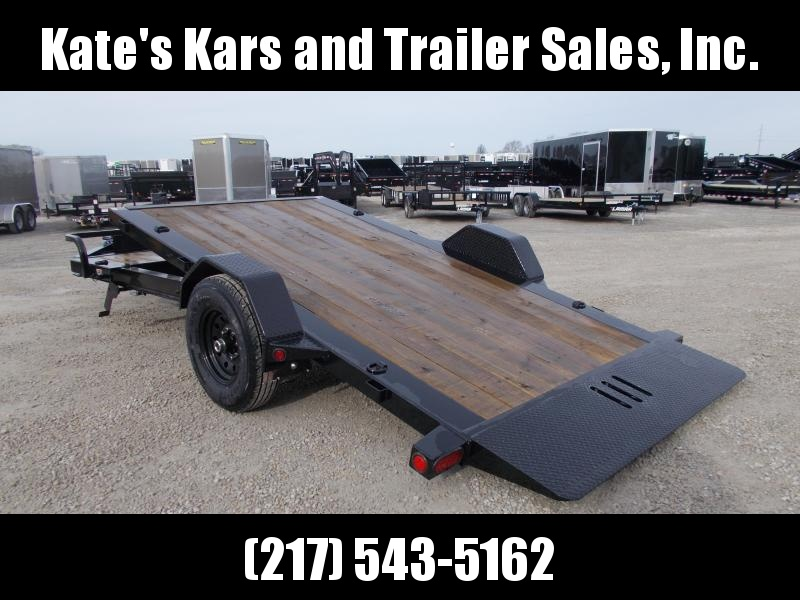 *NEW* Load Trail 15' Tilt Equipment Trailer Single Axle 7K LB