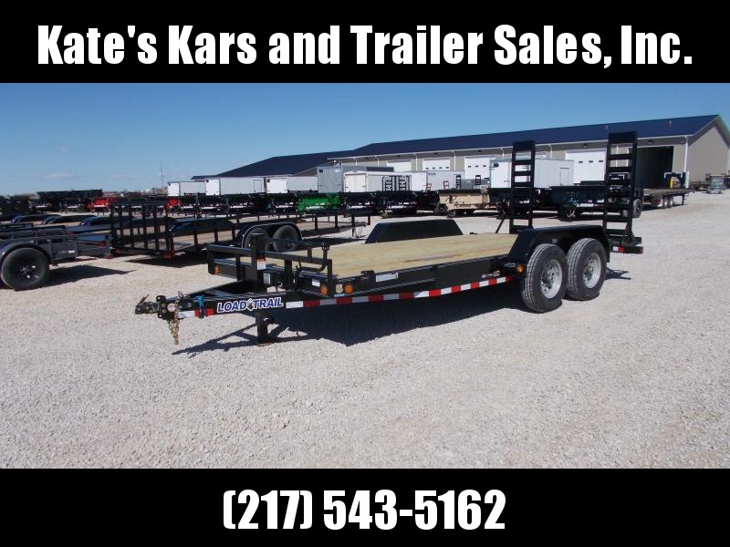 *NEW** Load Trail 83x18' Equipment bobcat trailer Flatbed Trailer