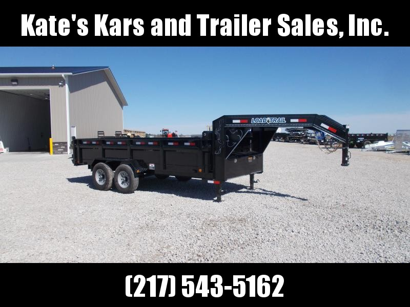 2019 Load Trail Gooseneck 16' Dump Trailer