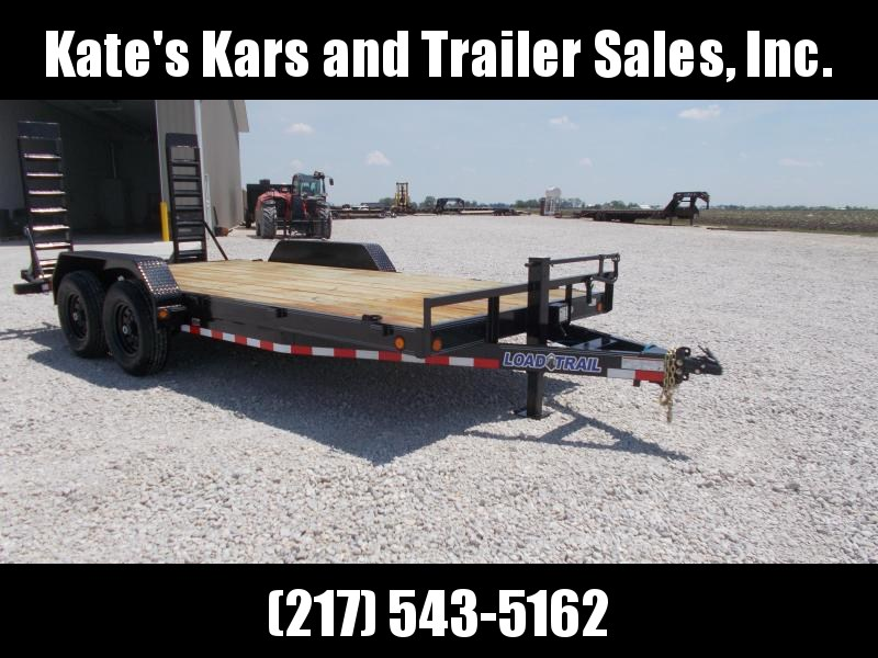 *NEW* Load Trail 83X18' Implement Equipment Flatbed Trailer 14K LB GVWR