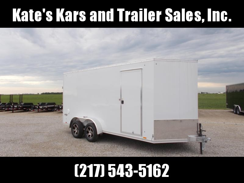 2020 Pace American 7X16 All Aluminum Enclosed Cargo Trailer