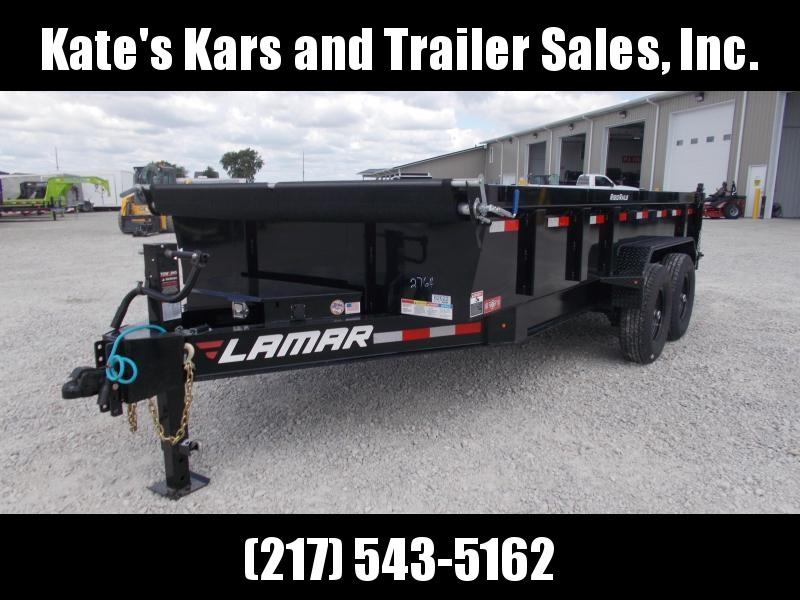 2019 Lamar Trailers 83X16 HD 7 GA Floor Dump Trailer