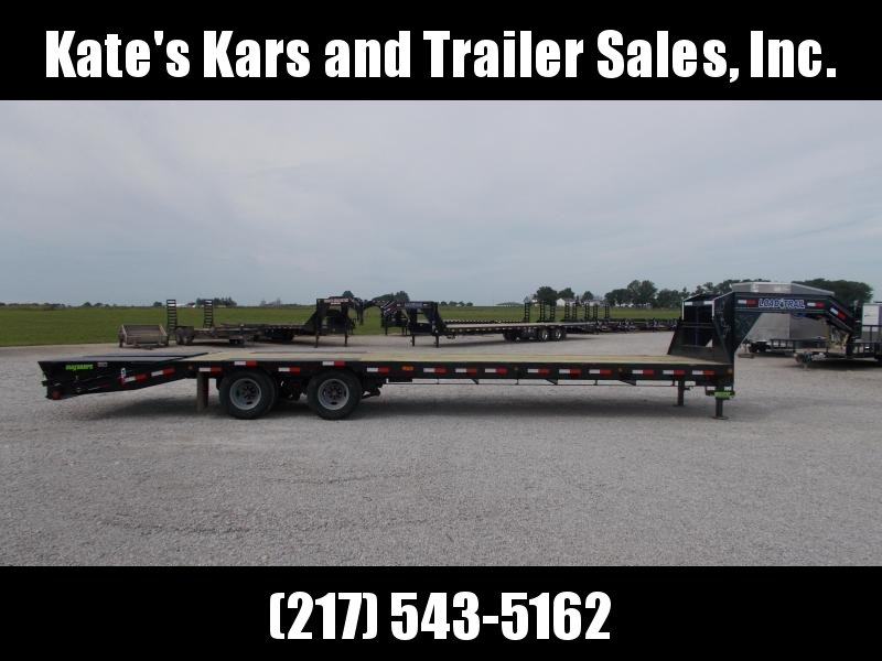 N*E*W* Load Trail 102X32 24K GVWR Flatbed Gooseneck Deck Over Trailer