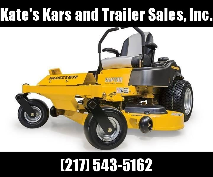 "2019 Hustler Raptor Limited 52"" zero turn mower Lawn mower for sale in illinois"