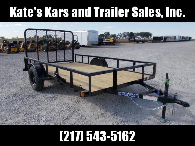 2020 Load Trail 77X12 Single Axle Spring Assist Gate Utility Trailer