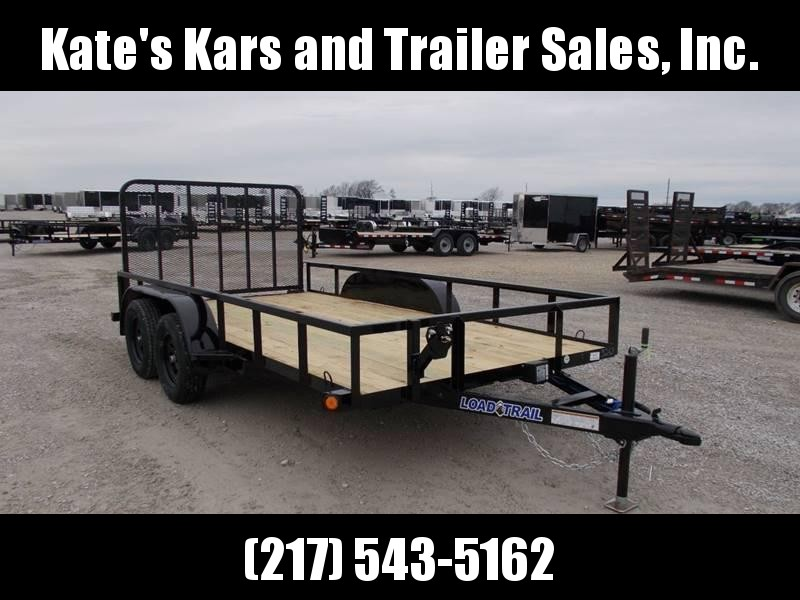 2020 Load Trail 83X14' Tandem Axle w Brakes and Gate Utility Trailer