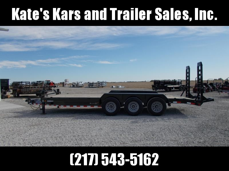 2002 Load Trail 83X22 21K Heavy Duty Equipment Trailer