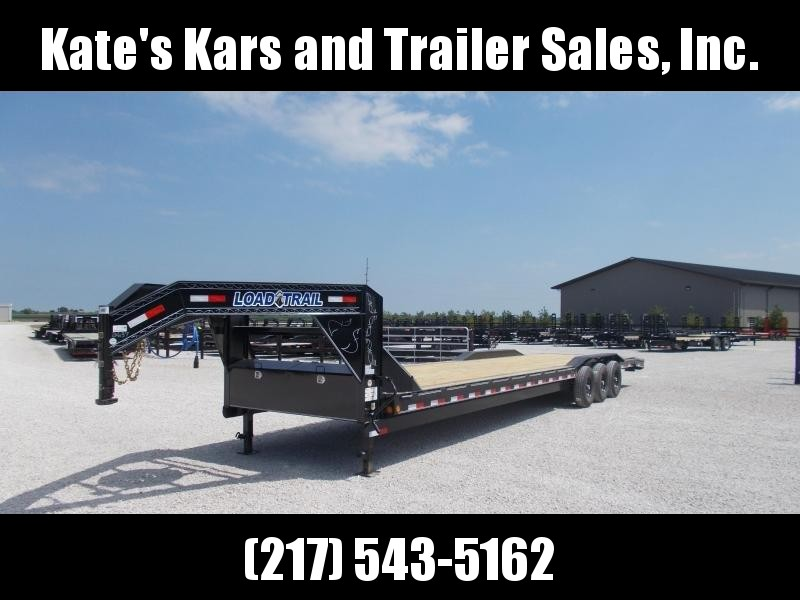 2019 Load Trail 102X36 Triple Axle Buggy Hauler Flatbed Trailer