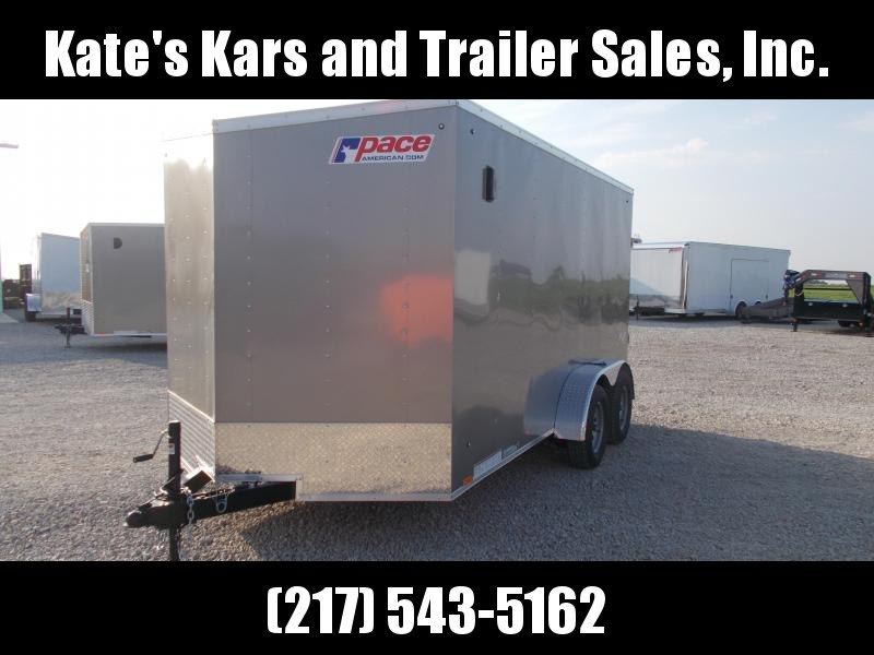 2020 Pace American 7X14 Extra Tall Enclosed Cargo Trailer