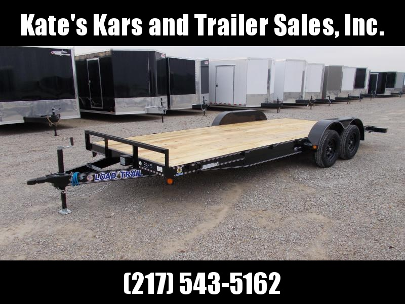 2020 Load Trail 83X20' Slide out ramps 7K GVWR Car / Racing Trailer