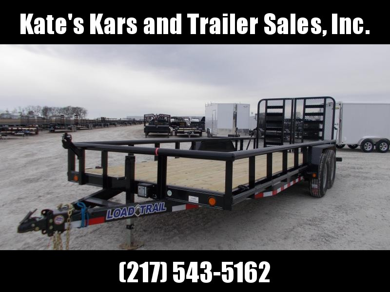 2019 Load Trail CS8320052 Equipment Trailer Flatbed Trailer