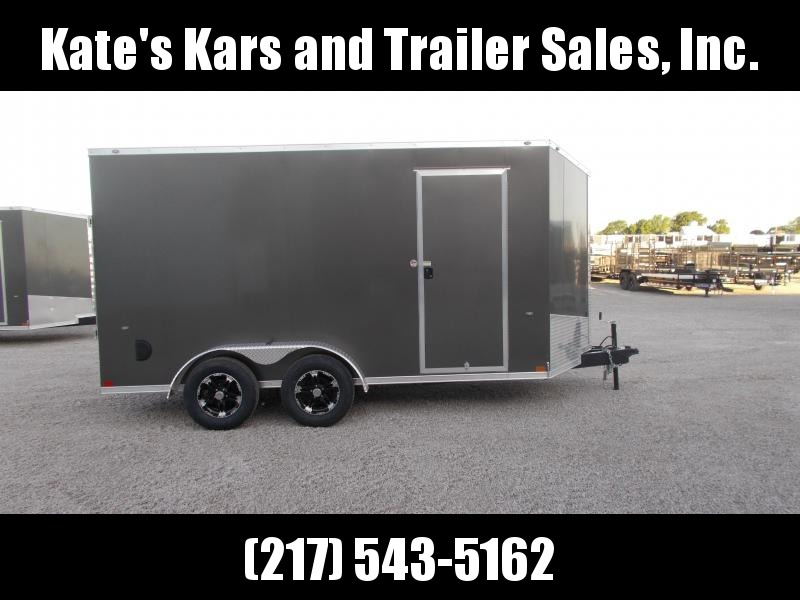 "ATV UTV SXS Trailer! Formula 7X14' UPGRADED CARGO 12"" Additional Height Screwless Sides Enclosed Cargo Trailer"