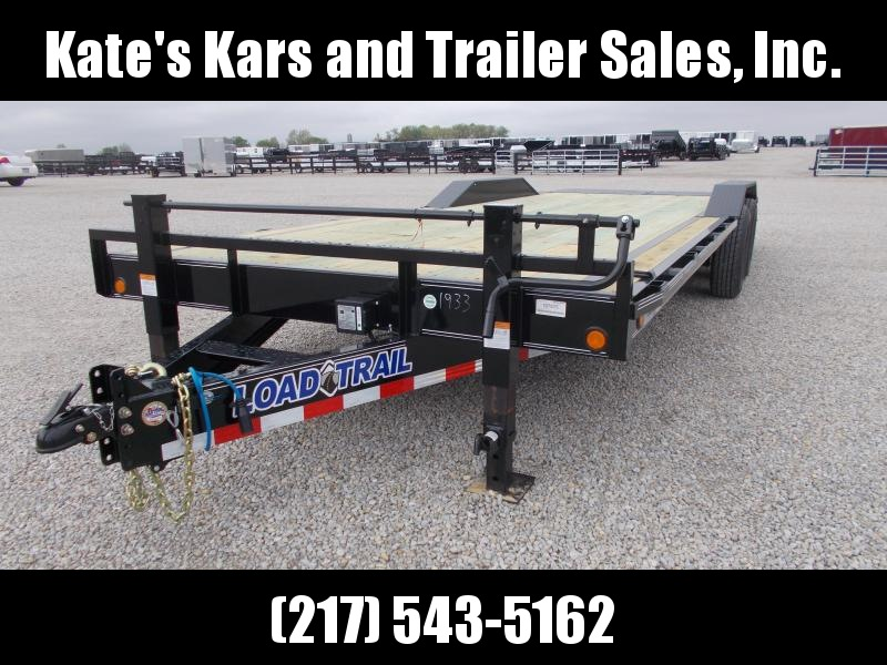 "24' Flatbed  Load Trail 102""X24' Equipment Flatbed Trailer 14K LB"
