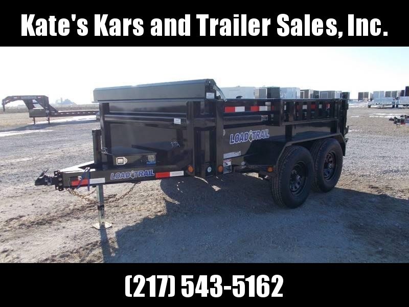 CHECK THIS OUT! Load Trail 83X10 9990GVWR Tandem Axle Dump Trailer
