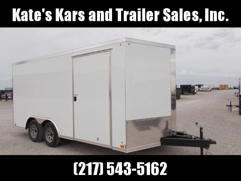 2020 Cross Trailers 8.5X16 Car Hauler Trailer Enclosed Cargo Trailer
