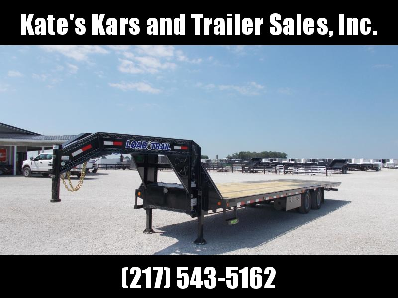 2020 Load Trail 102X32 Hydro Dove and Jacks Flatbed Trailer