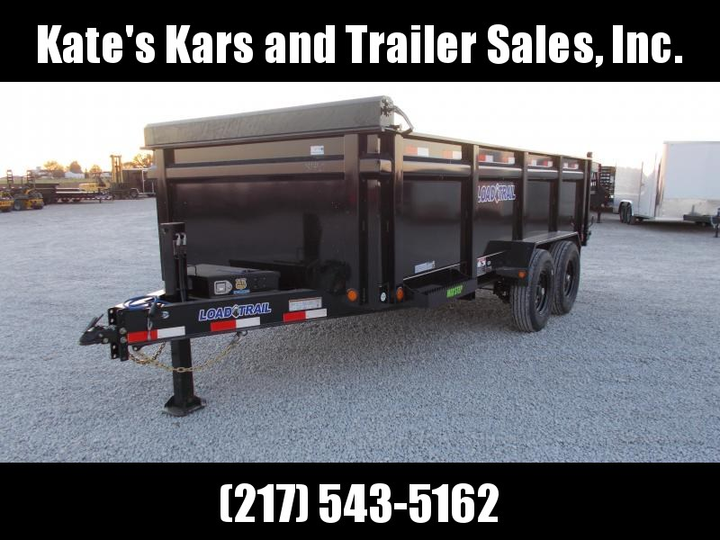 2020 Load Trail 83X16 Hydraulic Jack 36 inch Side Walls Dump Trailer
