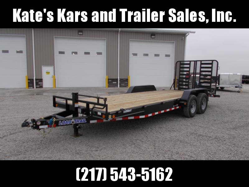 2019 Load Trail 83X22 5' HD Split Gate 14K GVWR Flatbed Trailer