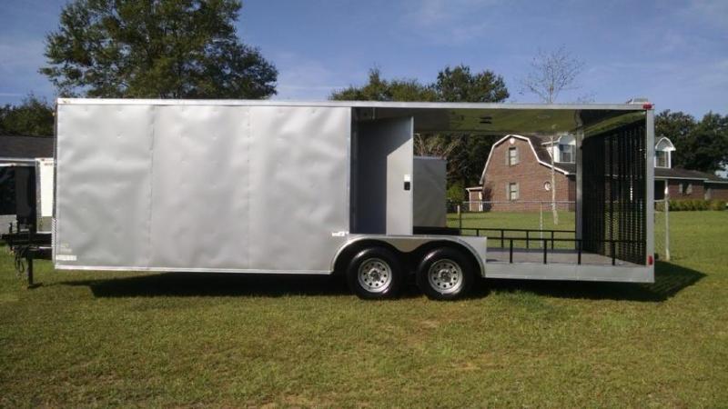 8.5 X 24 Economy Line Hybrid Trailer   New Cargo Trailers ...