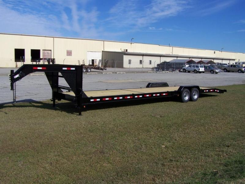 8 5 X 52 Tta5 Gooseneck Enclosed Trailer With Ramps To The Riser