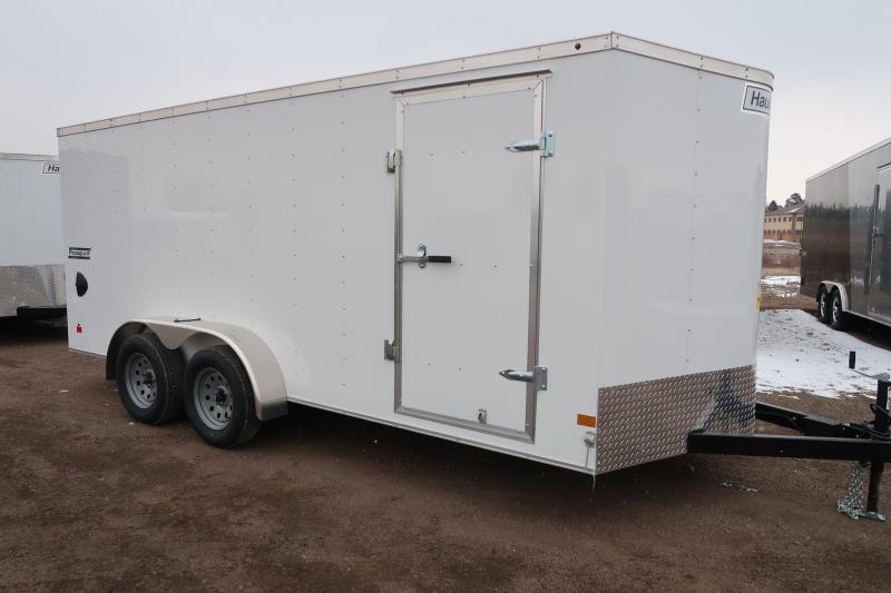 2019 Haulmark  7x16+V Enclosed Cargo Trailer
