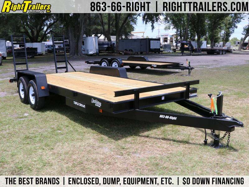 7x18 Triple Crown Trailers | Equipment Trailer