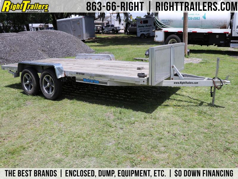 7x16 Wolverine Trailers | Open Car Hauler