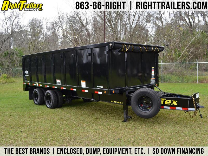 8x20x4 Big Tex Trailers | Dump Trailer