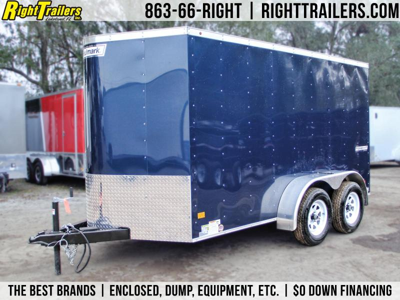 6x12 Haulmark Passport | Enclosed Trailer [Blue] Extra Hight