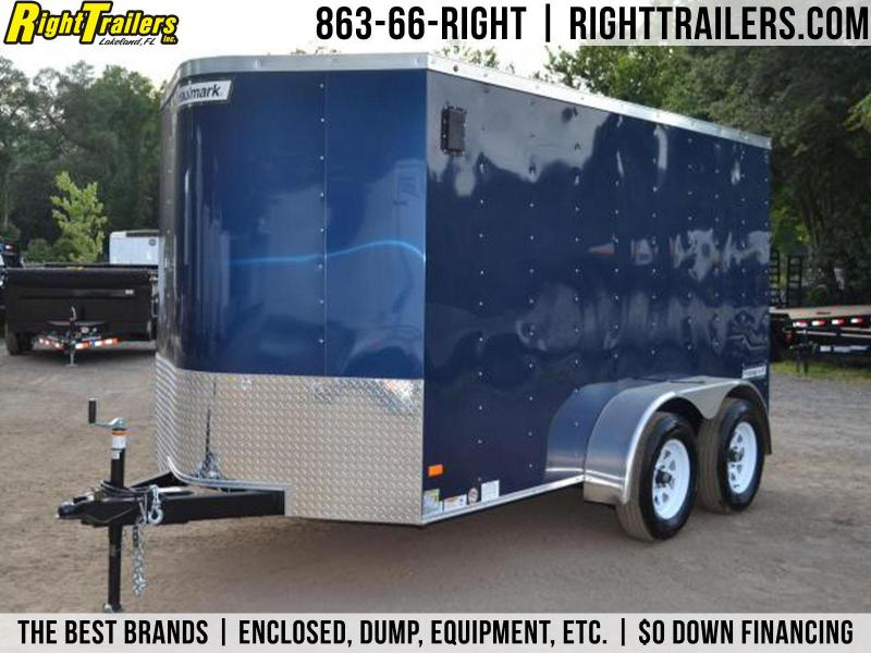 6x12 Haulmark | Enclosed Trailer [Indigo Blue]