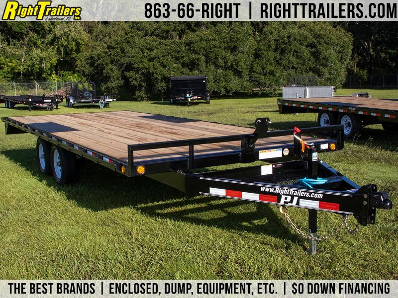 8.5x20 PJ | Deck Over Equipment Trailer