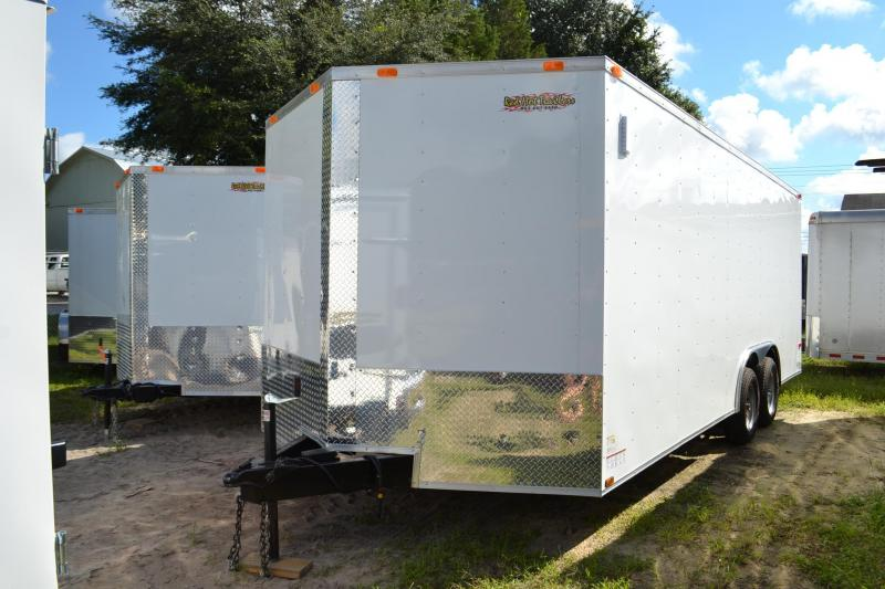 8.5x20 Red Hot Trailers | Enclosed Trailer
