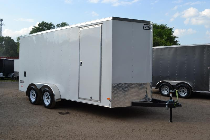 7x16 Haulmark   Enclosed Trailer with Extra Height