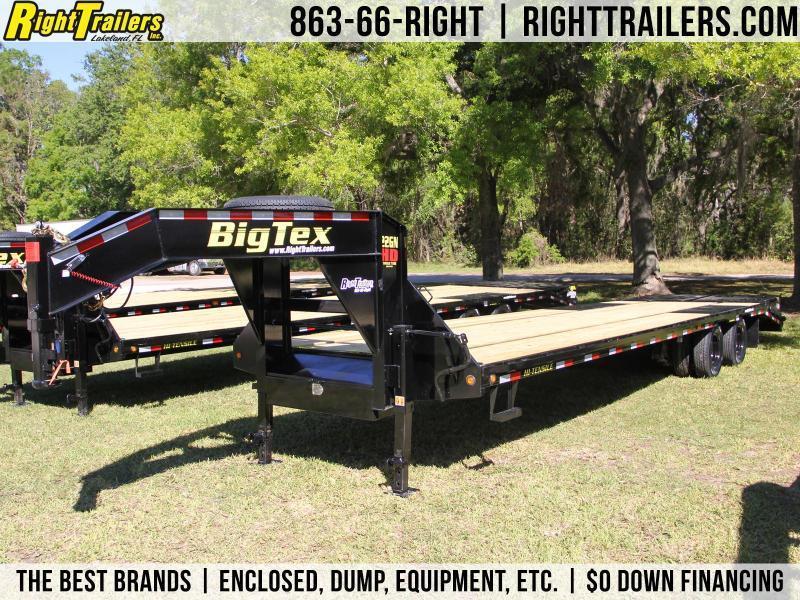 8.5x33 Big Tex Trailers | Equipment Trailer [22GN-28+5]