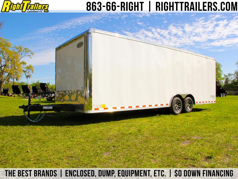 8.5x24 Continental Cargo | Enclosed Car Hauler Trailer