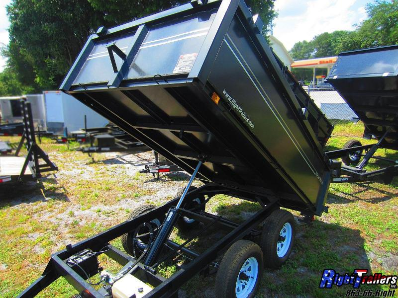 6x10 Triple Crown | Dump Trailer | Right Trailers | New And Used Cargo ...