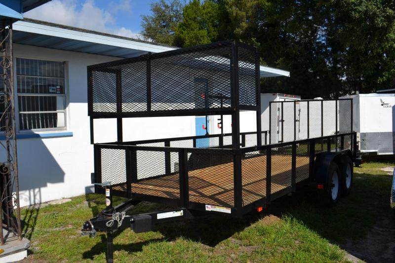 6x14 Triple Crown | Utility Trailer with Weed Eater Racks