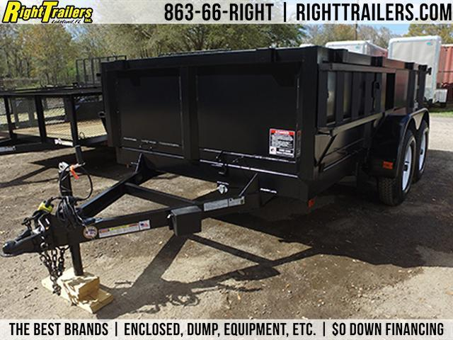 6x12 Red Hot Trailers | Dump Trailer [Low-Rider]
